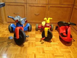 Tricycles and Plasmacar
