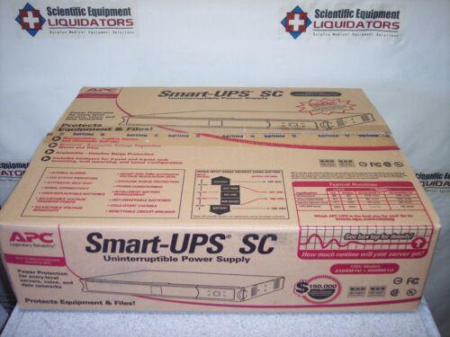 APC Smart-UPS SC 450VA 1U Rackmount/Tower UPS Smart-UPSSC450VA120V - New