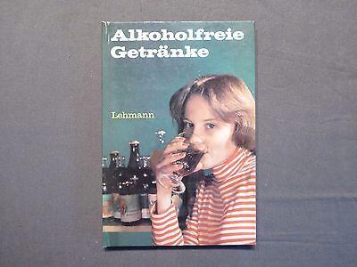 Buch, Heinz Lehmann, Alkoholfreie Getränke, Fachbuch, DDR 1979
