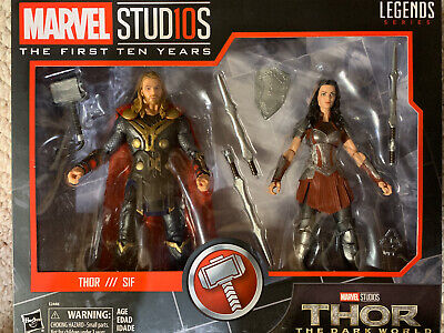 Marvel Legends Studios 1st 10 years Thor Lady Sif Movie 2-pack Ann Anniversary