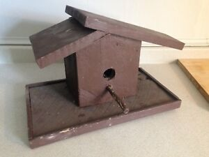 Rustic Barn Board Bird House