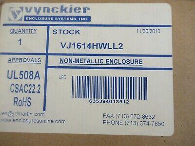 Vynckier Vj1614hwll2 Non-metallic Enclosure