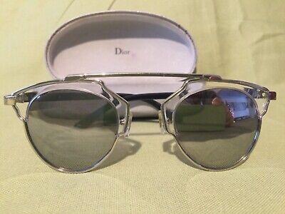 Christian Dior So Real Sunglasses mirror Gray Lenses