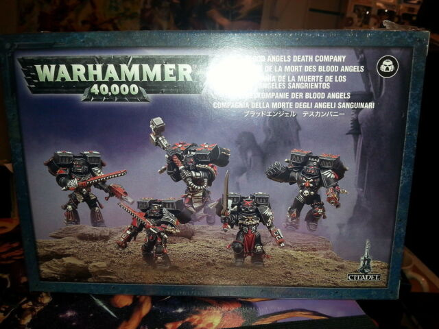 WARHAMMER 40K BLOOD ANGELS DEATH COMPANY 28MM MINIATURES NEW & SEALED