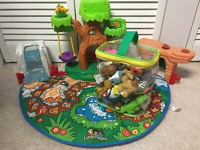 Fisher Price Little People A to Z Learning Zoo 26 Animals Alphabet Set Complete