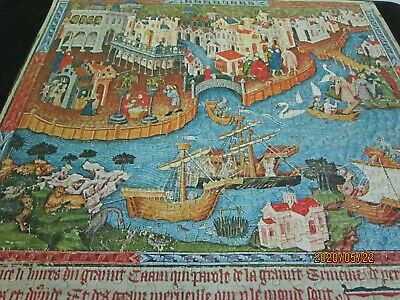 Vintage Marco Polo Departing 500 PC Springbok Jigsaw Puzzle PZL2018 Complete