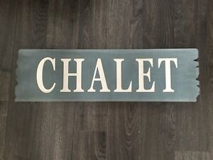 """Chalet"" wall art for sale"