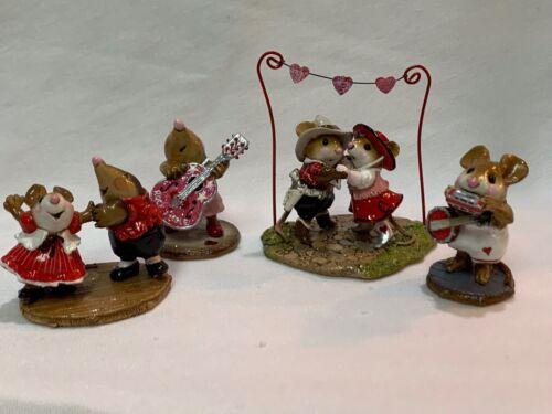 Wee Forest Folk Valentine Dance Set