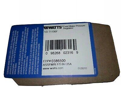 Watts 12 T1156f Series Iron Body Water Pressure Regulator 12 Threaded Union.