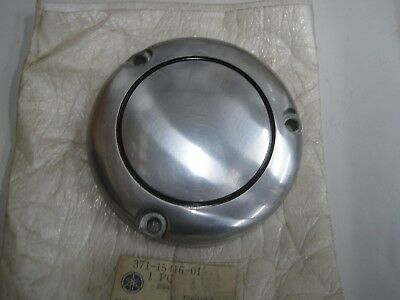 <em>YAMAHA</em> NOS OIL PUMP COVER 371 15416 TX500 1973 74  XS500 1975 78