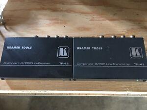 Kramer Component S/PDIF line Receiver transmitter