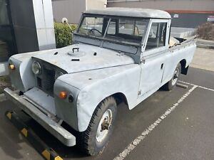 1958 Land Rover Series II 109