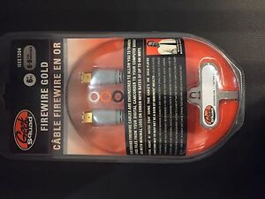 Cable FireWire gold NEUF