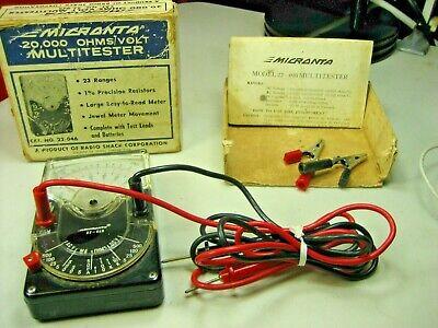 Micronta Vintage Multitester  22-046