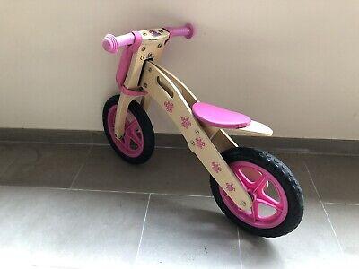 Bicicletta in legno senza pedali per bambini fino a 30 kg