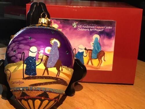 Reed & Barton MD Anderson ~  Holy Night by Carrington C4021HL  Ornament NIB