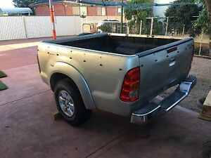 Trailer homemade hilux tub motorbike/camping trailer Deer Park Brimbank Area Preview
