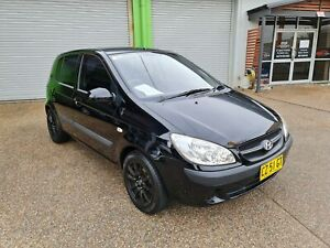 2009 Hyundai Getz S TB MY09 1.4L 4 Cylinder Hatch AUTOMATIC ONLY 60km Lambton Newcastle Area Preview