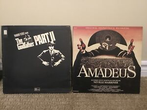 2 vintage movie sound track vinyl records