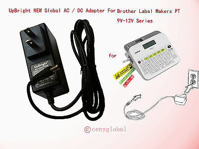 Global Ac Adapter For Brother P Touch Label Maker Labeler Ad E001 Power Supply