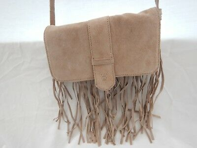 NEXT  BEIGE SUEDE TOTE, SHOULDER OR CROSS BODY BAG  Suede Cross Shoulder Tote