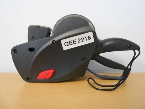 Contact/Gee- 2 Line  22/88 Labeler & 1 ink roller uses 2216 Garvey* Labels ,