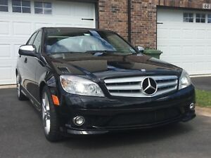 2009 Mercedes C-300 Black - 4MATIC