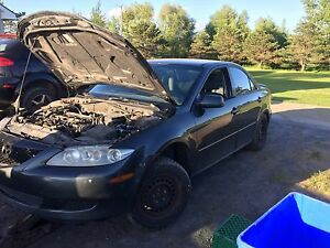 Mazda6 2.3L all parts available