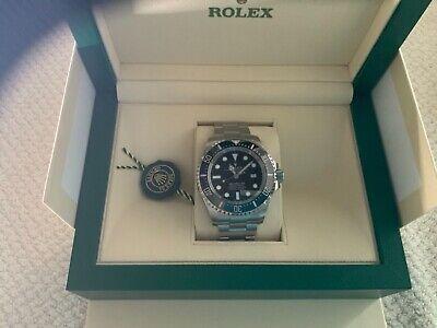 Rolex Deepsea Men's Black Watch - 126660