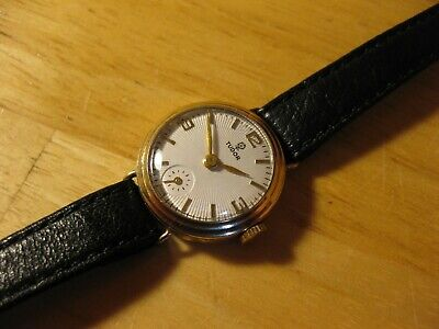 ROLEX TUDOR SMALL ROSE 1950'S 9CT SOLID GOLD VINTAGE LADIES WATCH