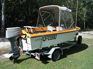 Easy Rider 146 Fibreglass Runabout Burpengary Caboolture Area Preview