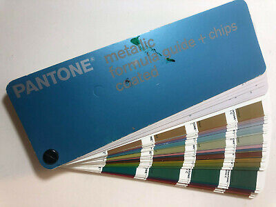 Pantone Metallic Guide Chips Coated Color Guide 2003