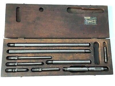 Tumico Model I-636 Tubular Micrometer Set Vintage