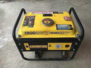 1200 Watt Champion gas generator