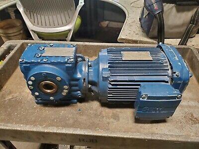Sew-eurodrive 2 Hp Gearmotor 230460 Vac 32.481 Ratio Sa57 Drn90l4