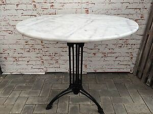Bistrotisch marmor m bel ebay for Marmorplatte rund