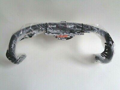 Cinelli MASH Aluminum Alloy 31.8 Road//Fixie Drop Dropbar Handlebar BLACK 40 CM