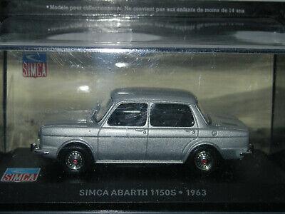 SIMCA ABARTH 1150S, 1963
