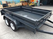 AUSSIE MADE 8X5 HEAVY DUTY TANDEM TRAILER 2000KG NEW TYRES & RIMS Brisbane South East Preview