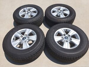 Toyota land cruiser 200 series 4 rims and tyres