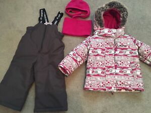 Baby Girl Snowsuit 18 Months- Like New
