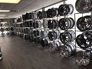 Unauthorized wheel and tire warehouse