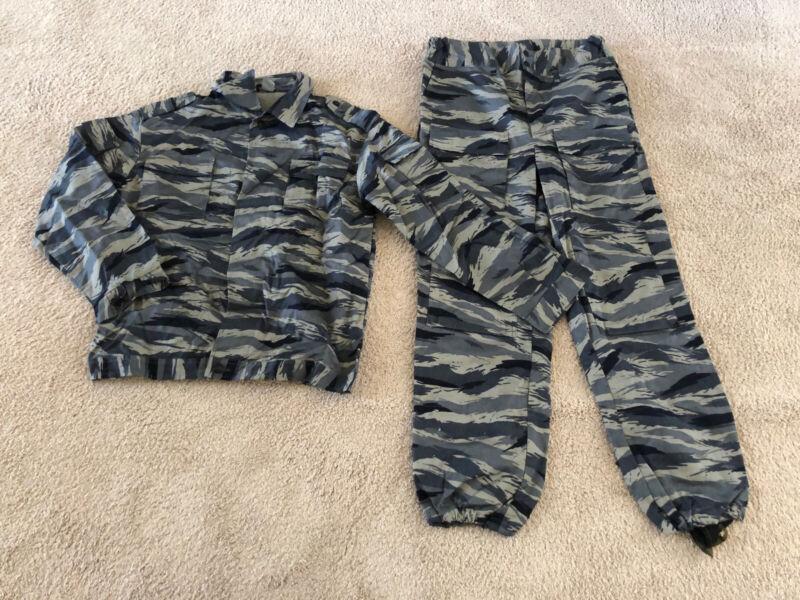 Russian Army Police Kamysh blue Camo MVD OMON Uniform Size 54 - 5
