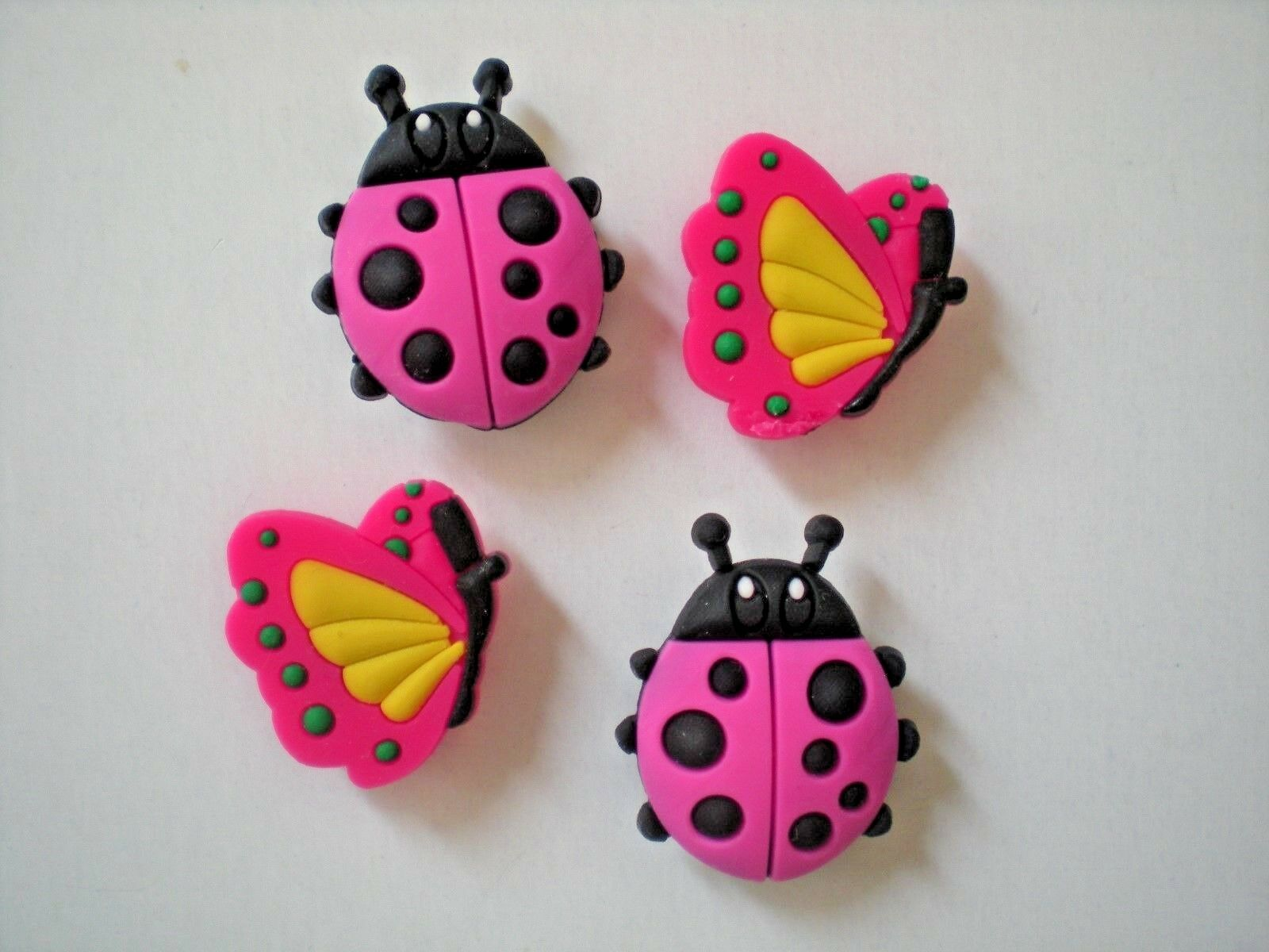 Clog Shoe Charms Button Plug Heart Accessories Bracelet WristBand