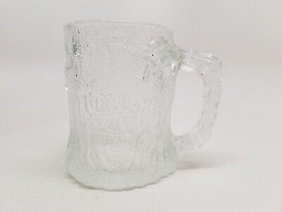 The Flintstones 1993 McDonald's Glass Mug