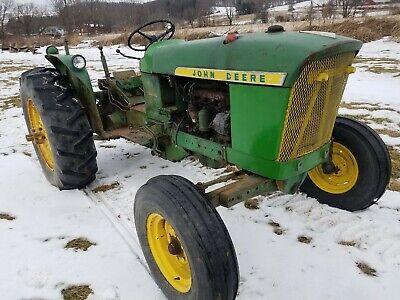 John Deere 2010 Tractor Hood W Emblems Sold As Is