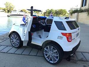 Kids electric  ride on AMERICAN Jeep Police Cars Perth Perth City Area Preview