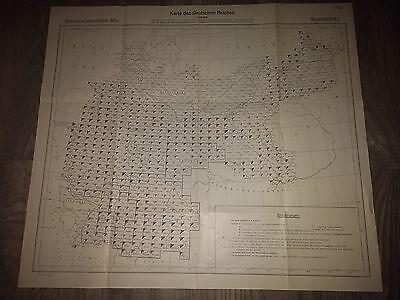 Karten Deutsches Reich um 1900, 578 Stück, 1:100000, Sammlung
