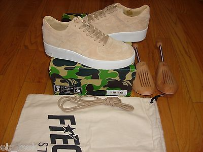 Brand New Ronnie Fieg x A Bathing Ape Bapesta Fiegsta Sand size 40 EU HOT DEAL