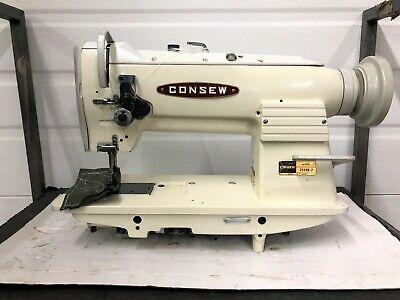 Consew 255rb-2 Walking Foot Big Bobbin Reverse Industrial Sewing Machine
